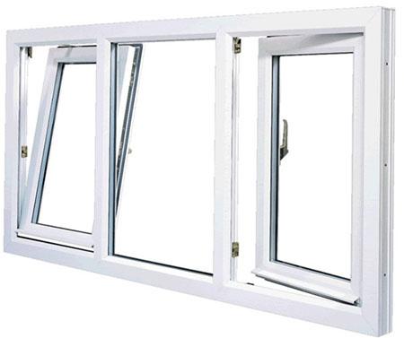 پنجره دوحالته یو پی وی سی،Tilt & Turn Window،uPVC